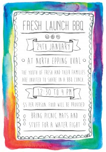 fresh launch BBQ flyer FACEBOOK